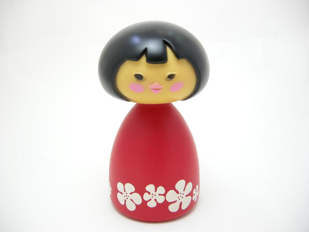 エイボン シャンプーボトル スモールワールド Asian girl(Poolu)/アジア 1970〜72年 A No.026