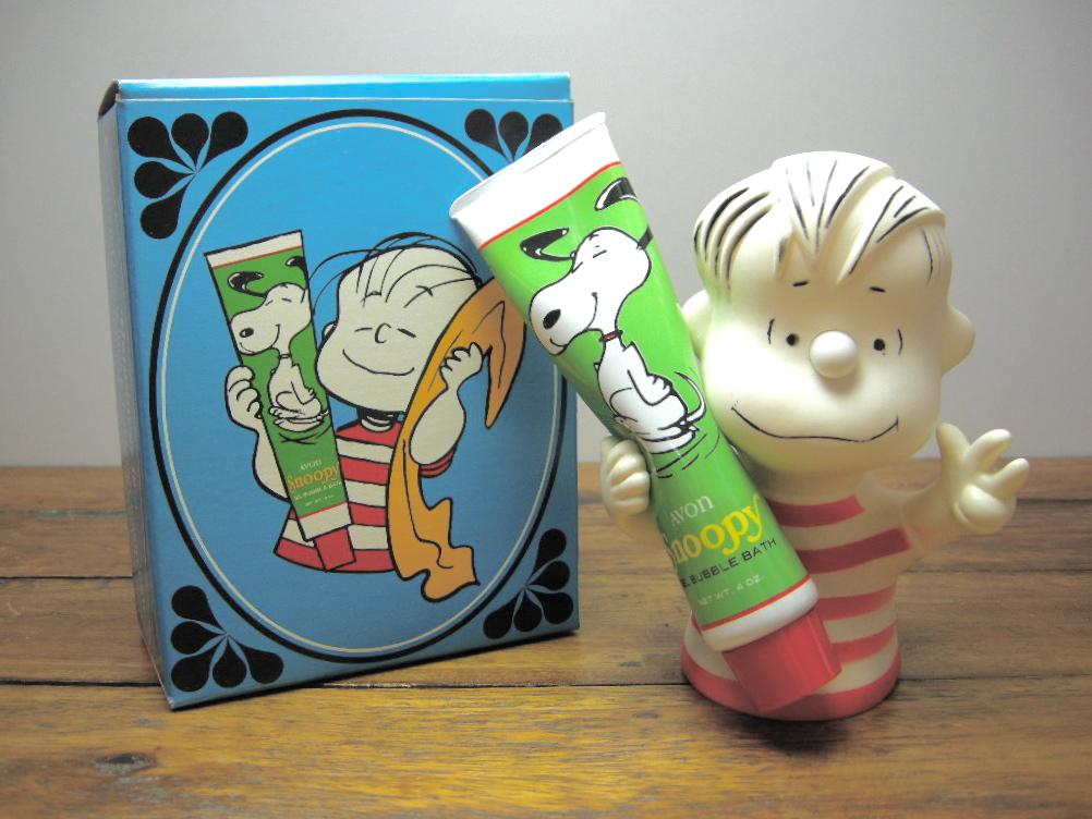 エイボン バブルバス&ホルダー Linus (箱入り) 1952年 A No.030