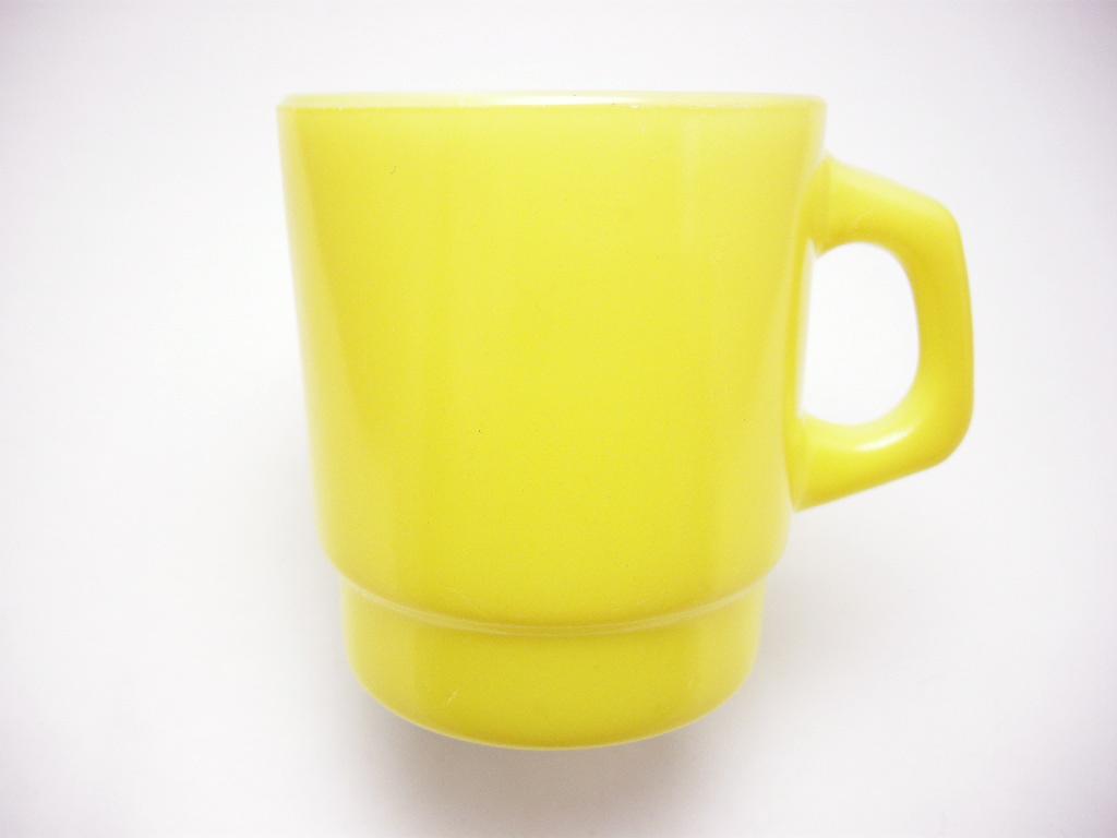 ファイヤーキング スタッキングマグ 黄色 70s AB No.309