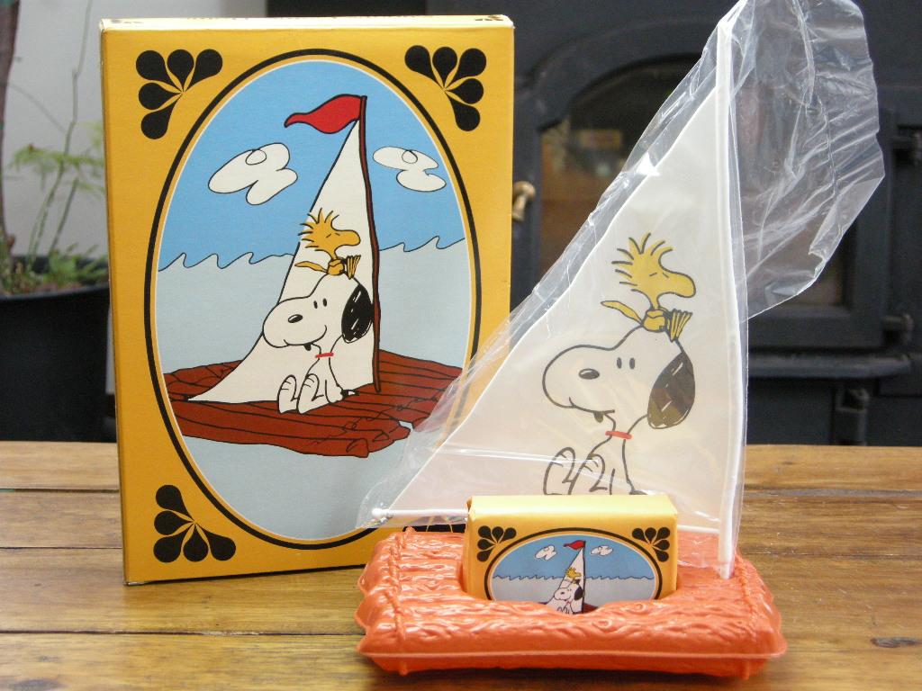 エイボン ソープディッシュ&ソープ(SNOOPY COME HOME) スヌーピー (箱入り) 1973年 S No.042