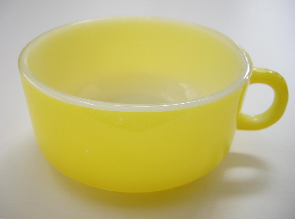 グラスベイク スープカップ イエロー B No.001