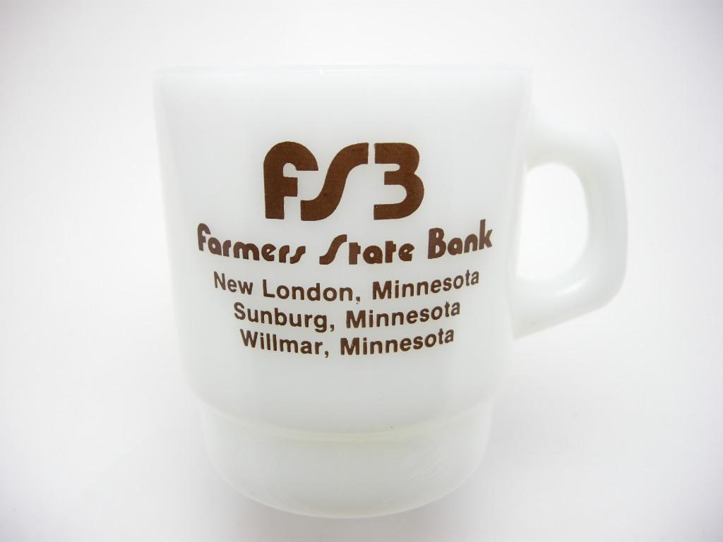ファイヤーキング アドマグ 銀行 FARMERS STATE BANK 70s AB No.003