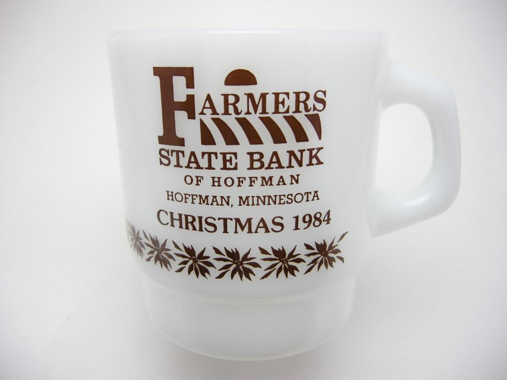ファイヤーキング アドマグ 銀行 FARMERS STATE BANK 1984 A No.005