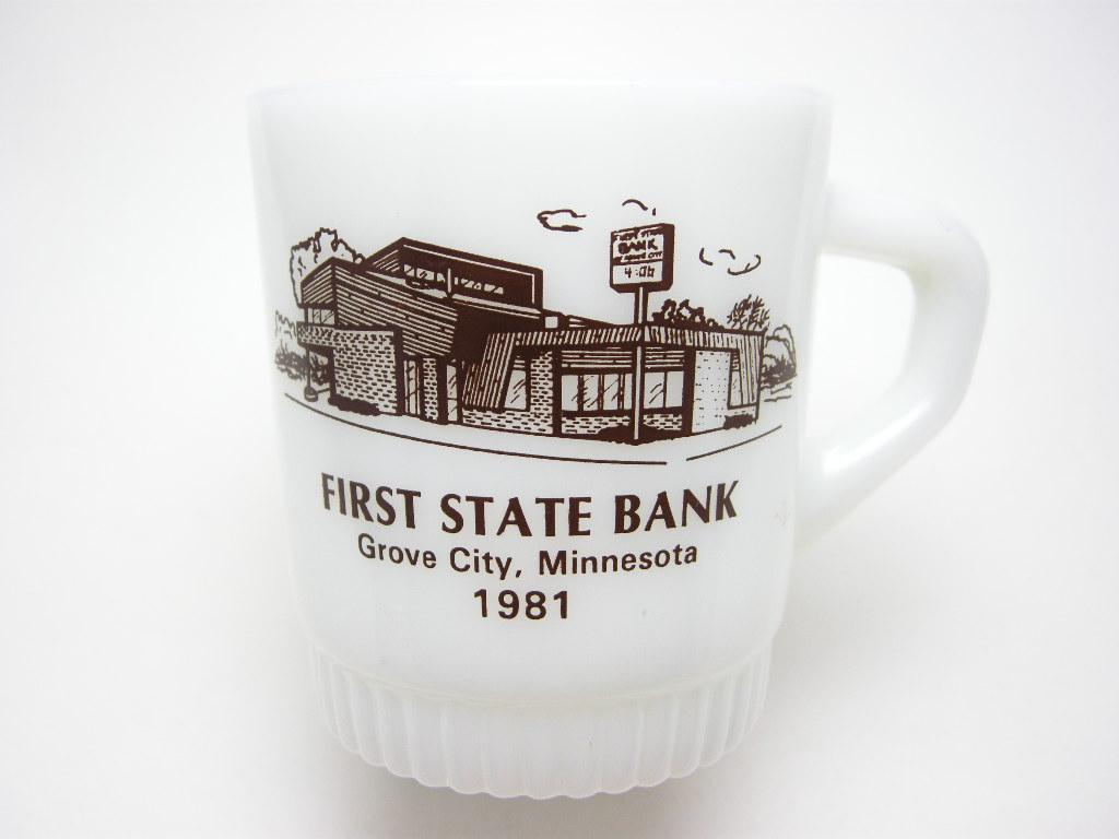 ファイヤーキング アドマグ 銀行 FIRST STATE BANK 1981 A No.106