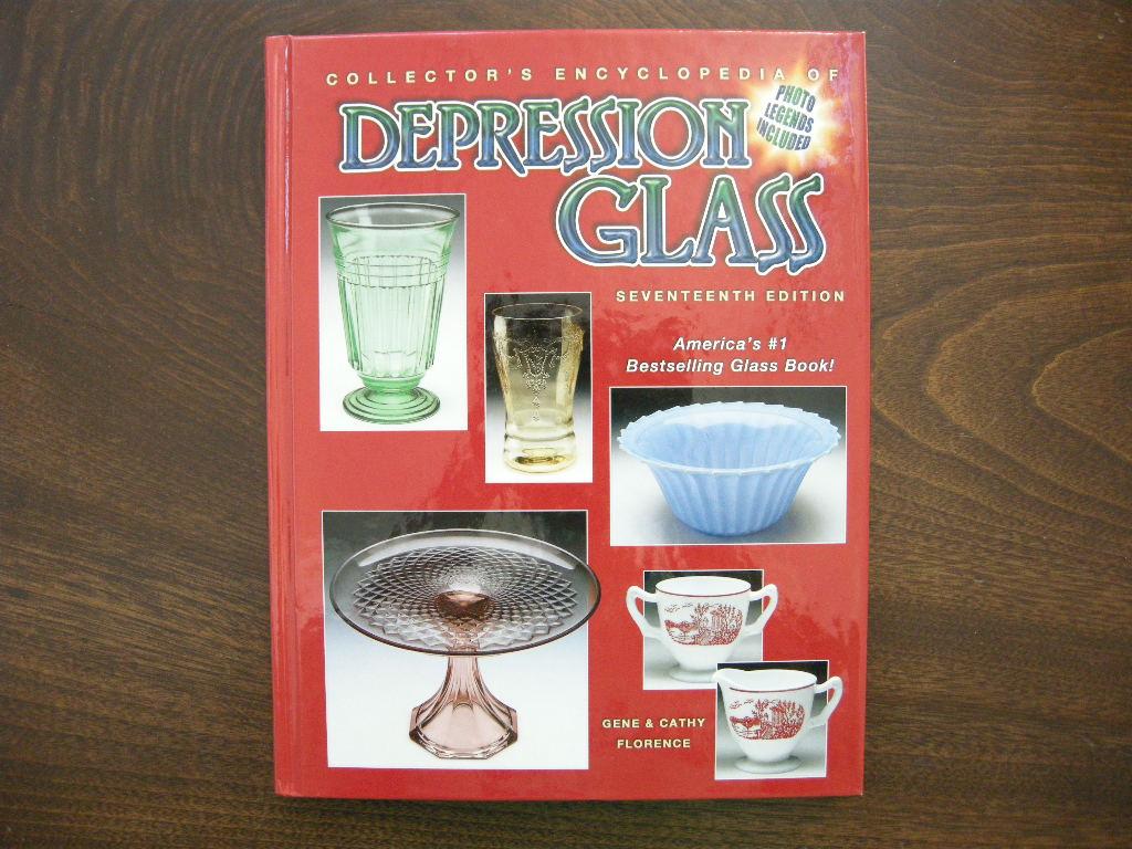 『Depression Glass』17th EDITION  (ハードカバー) 新品 送料無料