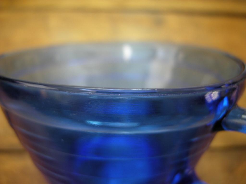 ヘーゼルアトラス モダントーン カップ&ソーサー リッツブルー 30s A No.043