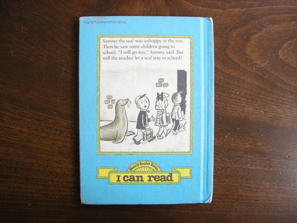 シドホフ『SAMMY THE SEAL』ヴィンテージ英語絵本 フルカラー(ハードカバー) 1959年 中古A