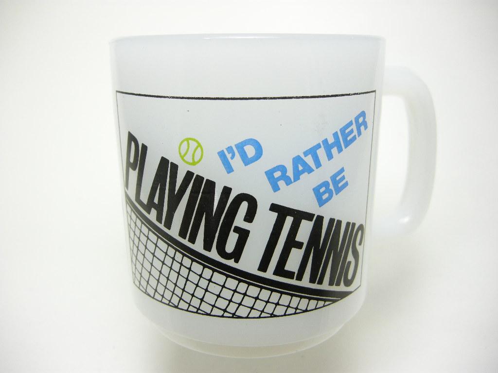 グラスベイク スタッキングマグ スポーツ テニス S No.002