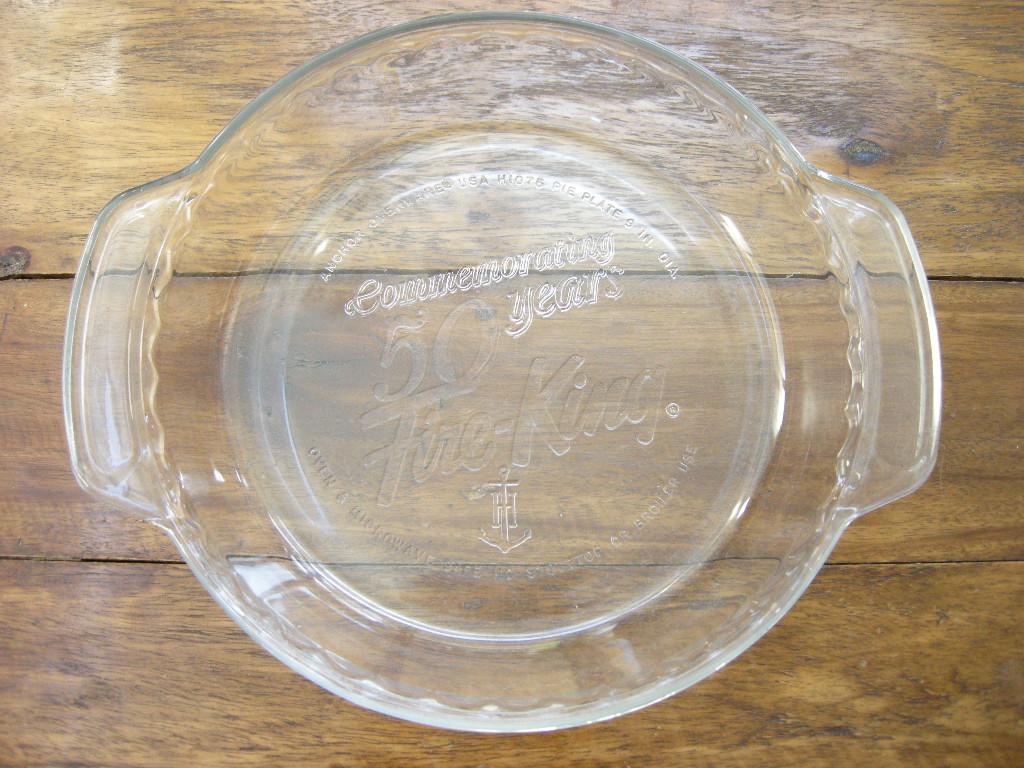 ファイヤーキング 50周年アニバーサリー 9インチ パイプレート クリスタル No.001
