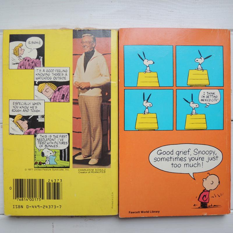 スヌーピー ヴィンテージコミック(ペーパーバック)  英語版 1960年代ー1980年代 6冊セット ABランク No.041