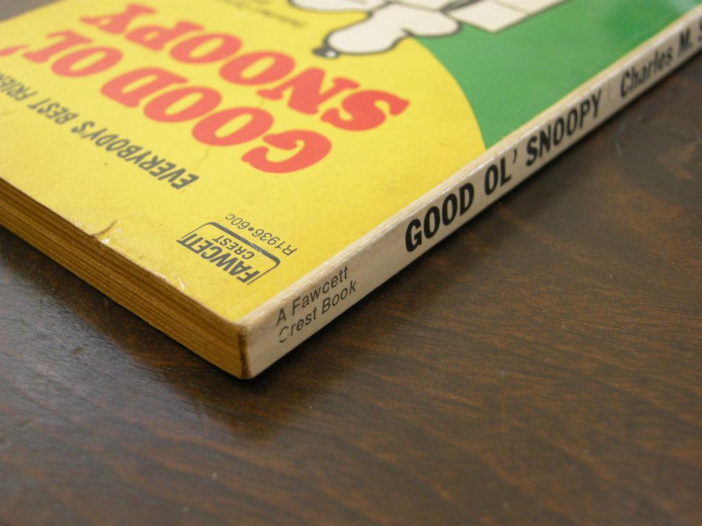 スヌーピー 『GOOD OL' SNOOPY』 ヴィンテージコミックブック モノクロ 1958年発行 (ペーパーバック) No.003 中古 送料無料