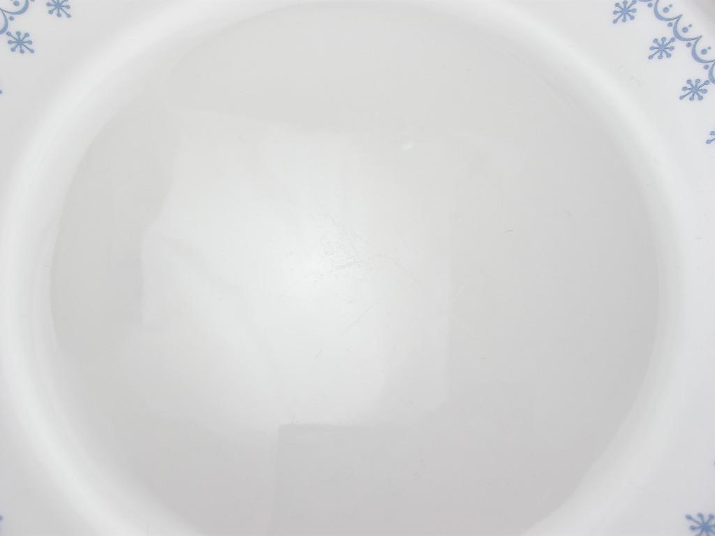 コーニング コレール スノーフレーク ランチョンプレート 70s AB No.018