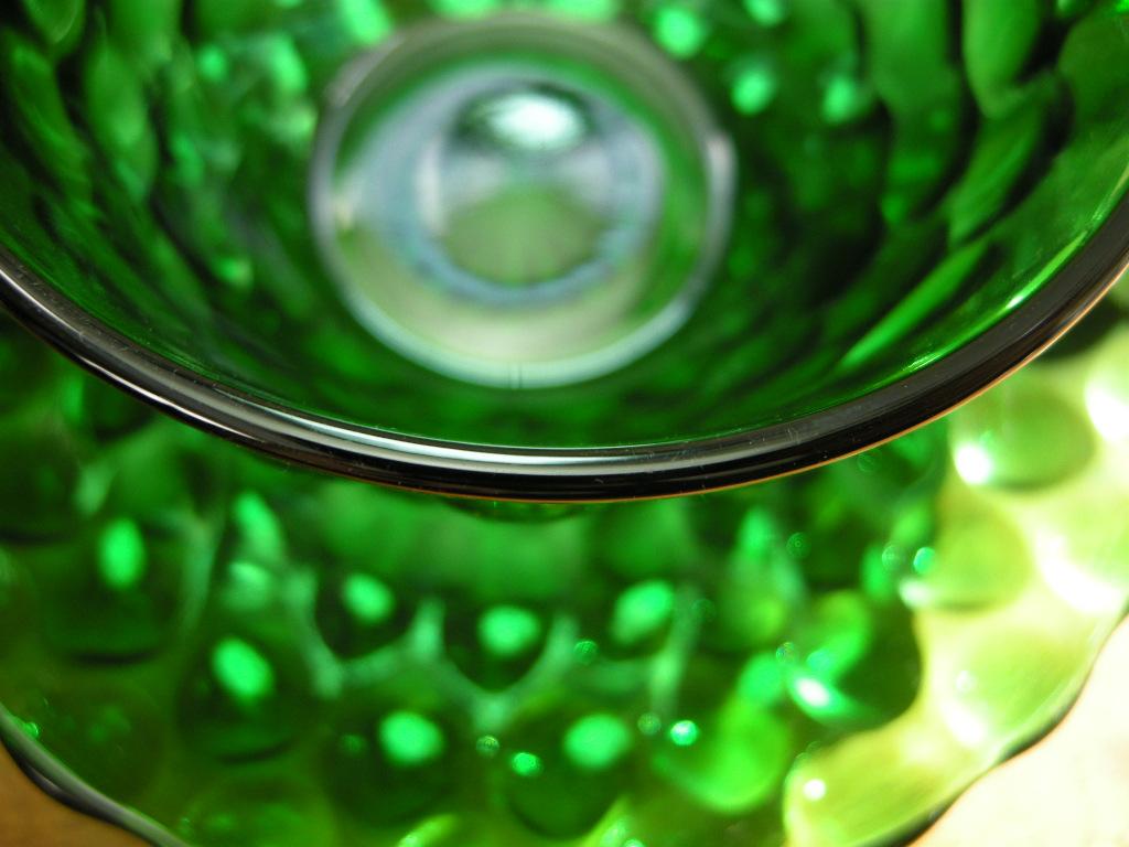 ファイヤーキング バブル カップ&ソーサー フォレストグリーン A No.023