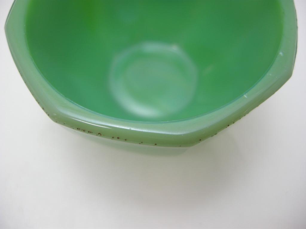 アクロアガット オクタゴナル ミニチュア カップ ジェードグリーン AB No.009