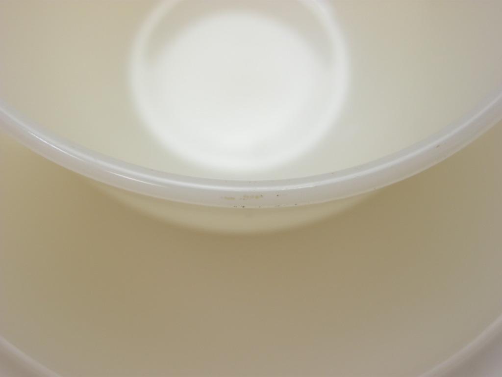ファイヤーキング 1700line ランソムカップ&ソーサー ライトアイボリー 40s後期(カップGLASS刻印) A No.016