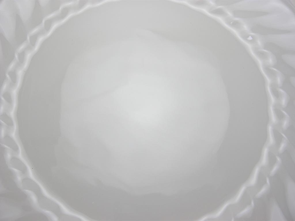 ファイヤーキング シェル ディナープレート ホワイト 60s S No.012