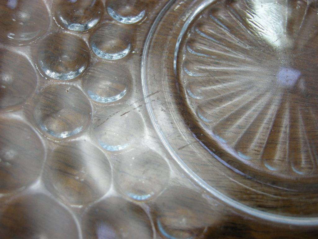 ファイヤーキング バブル ソーサー サファイヤブルー 40s後期 AB No.001