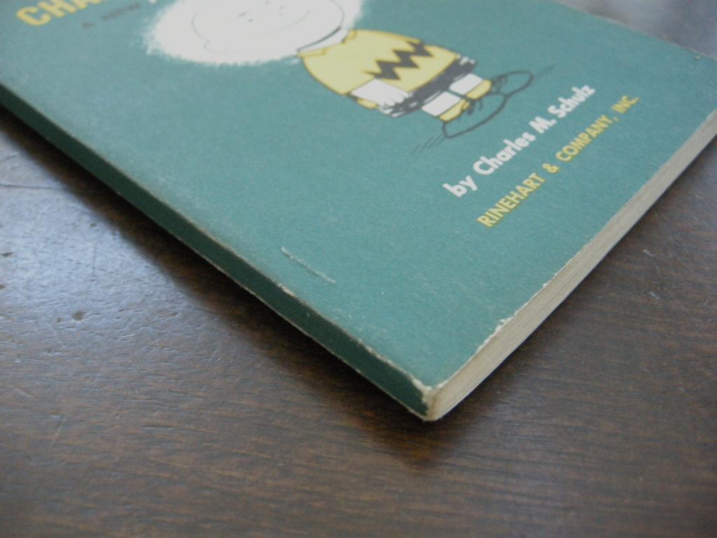 スヌーピー 『Good Ol' Charlie Brown』 ヴィンテージコミックブック モノクロ 1958年発行 (ペーパーバック) 中古 送料無料