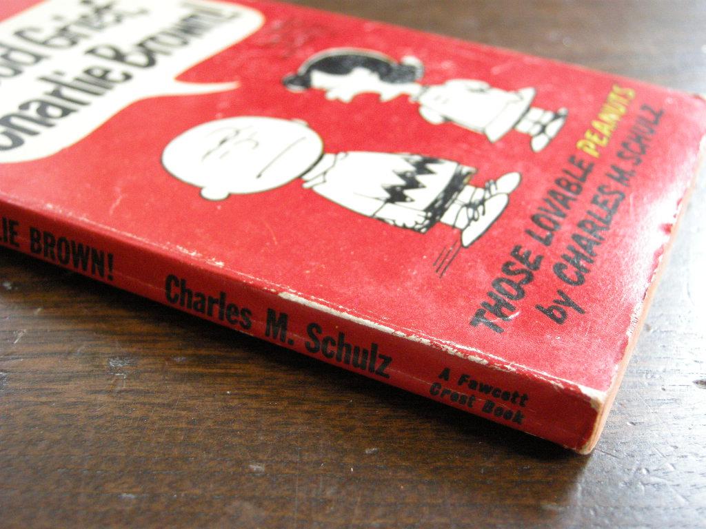 スヌーピー 『Good Grief, Charlie Brown!』 ヴィンテージコミックブック モノクロ 1967年発行 (ペーパーバック) No.001 中古AB