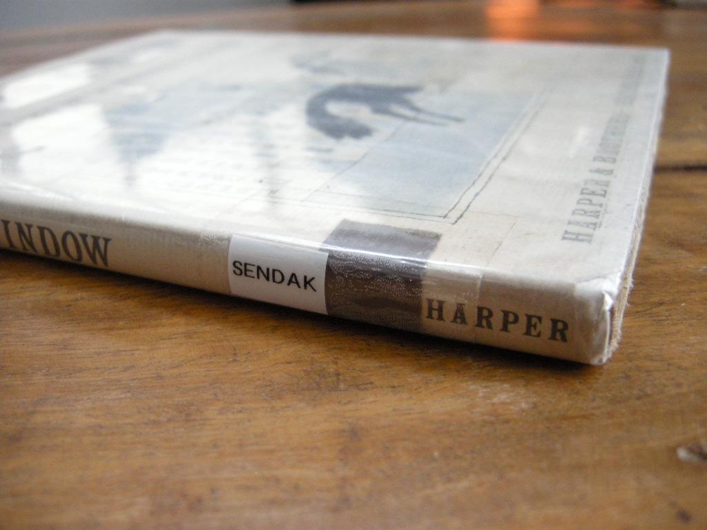 モーリスセンダック『KENNY'S WINDOW』 ケニーのまど ヴィンテージ英語絵本 2色刷り(ハードカバー) 1956年 中古B