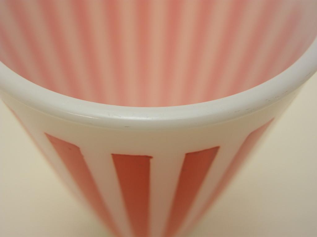 ヘーゼルアトラス キャンディーストライプ タンブラー オレンジ A No.011