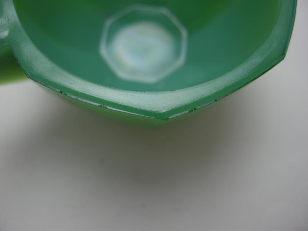 アクロアガット オクタゴナル ミニチュア カップ ジェードグリーン AB No.010