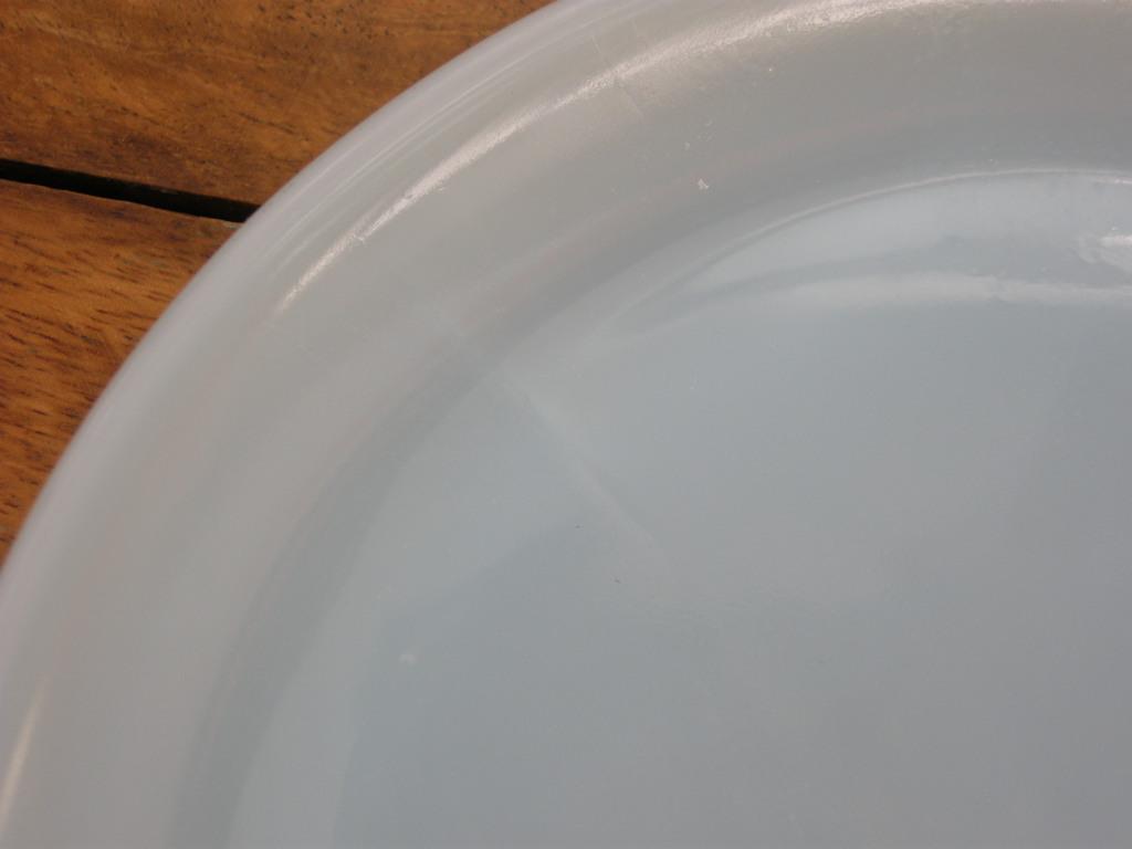 ファイヤーキング 6 1/8インチプレート(約15.6センチ) ターコイズ 50s後期 S No.004