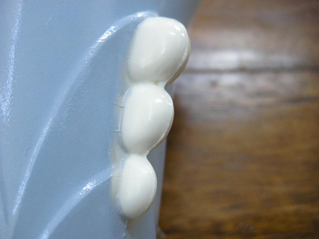 ファイヤーキング フラワーベース ヴィトロック ブルー S No.001