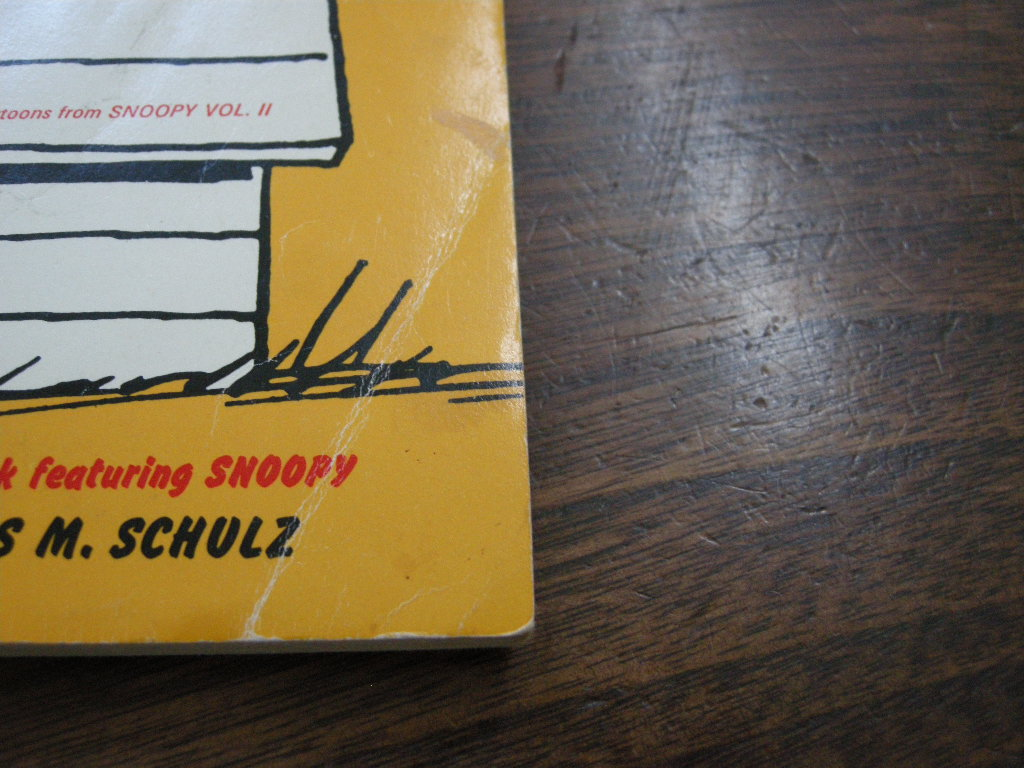 スヌーピー 『GOOD OL' SNOOPY』 ヴィンテージコミックブック モノクロ 1978年発行 (ペーパーバック) 中古 送料無料