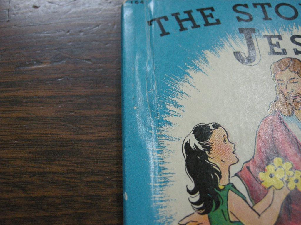 『THE STORY OF JESUS』 ヴィンテージ英語絵本 フルカラー(ハードカバー) 中古 A 送料無料