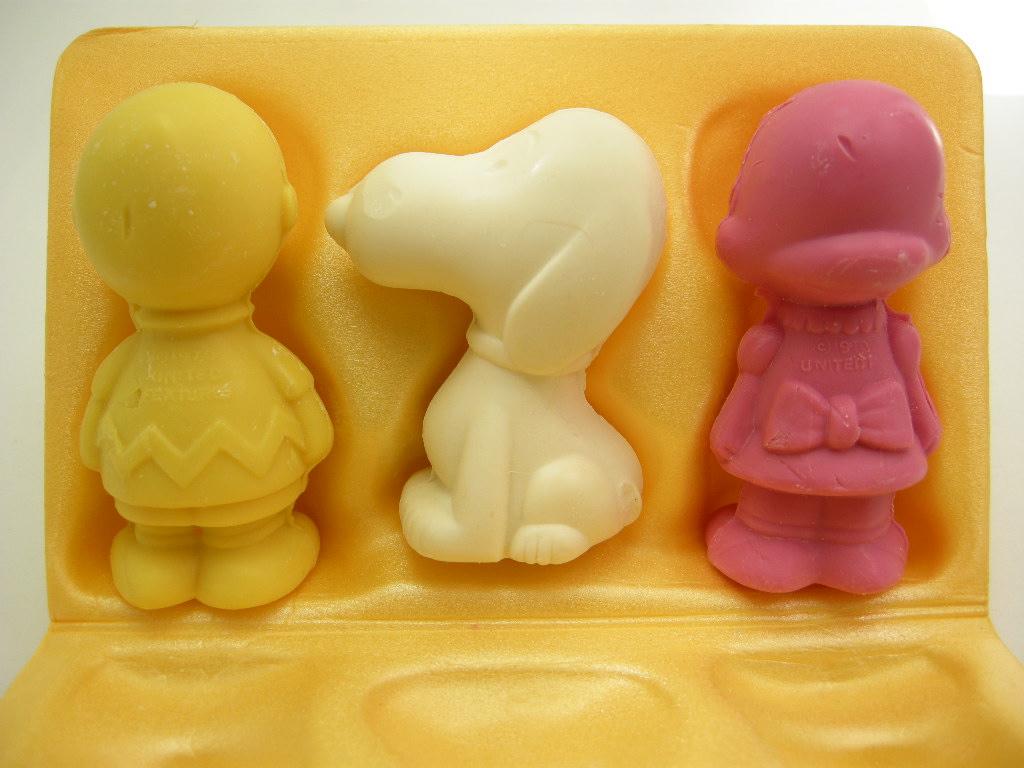 エイボン ソープ スヌーピー/チャーリー・ブラウン/ルーシー (箱入り) 1970年 AB No.035
