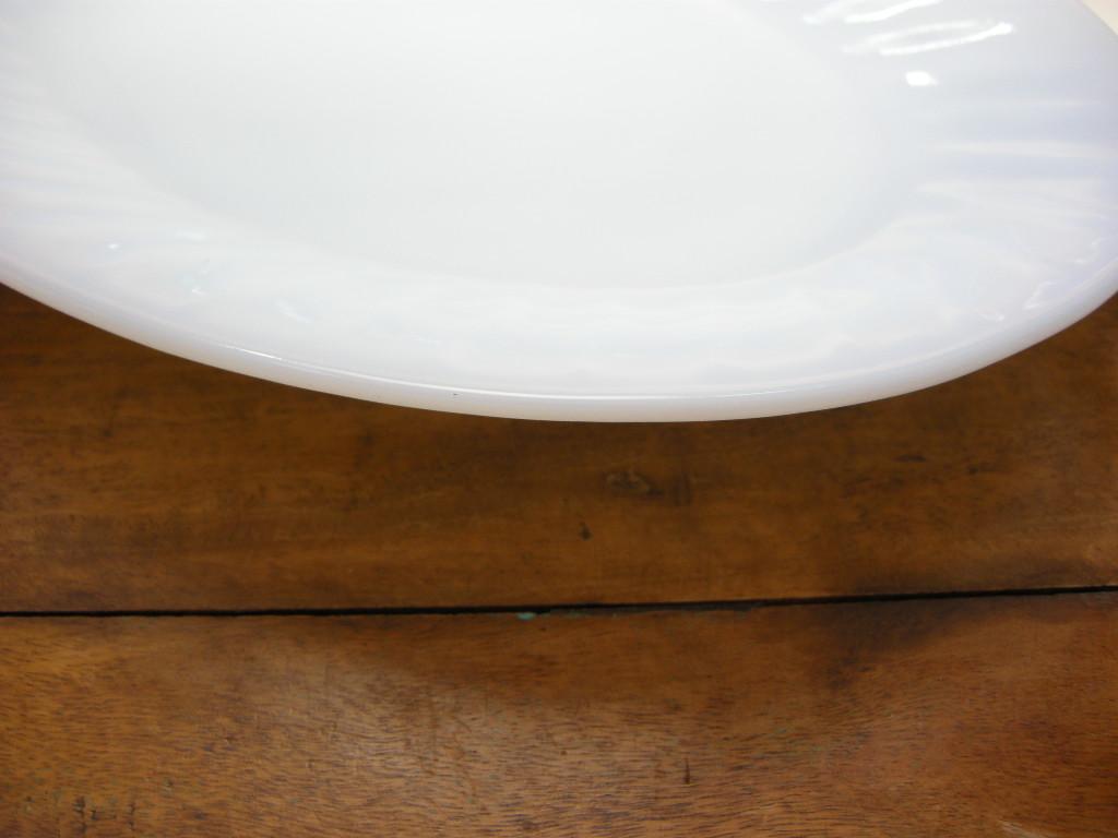 ファイヤーキング スワール プラッター アズライト 40s後期(GLASS刻印) S No.001