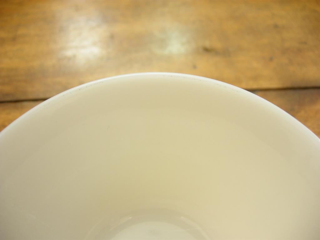 ファイヤーキング カスタードカップ(6oz) アイボリー 40s(GLASS刻印) S No.020