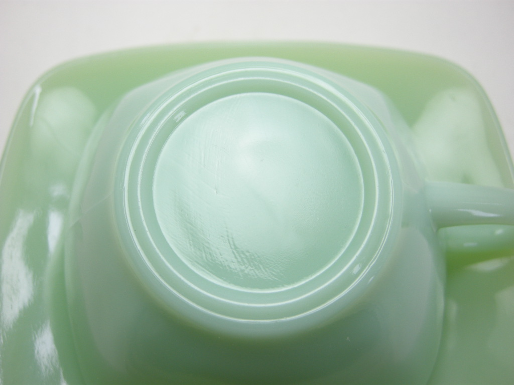 ファイヤーキング チャーム カップ&ソーサー ジェダイ 40s(GLASS刻印) A No.052