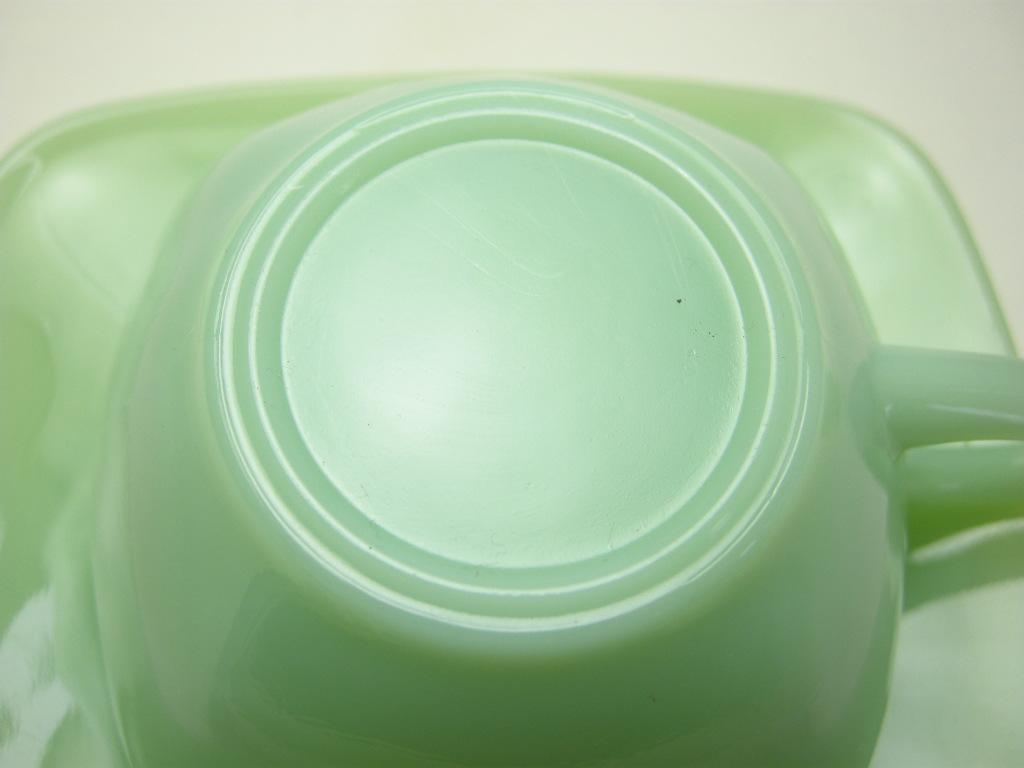 ファイヤーキング チャーム カップ&ソーサー ジェダイ 40s(GLASS刻印) A No.054
