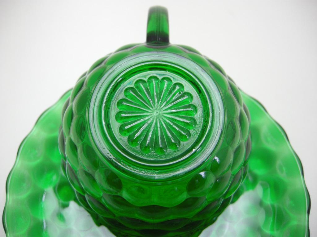 ファイヤーキング バブルカップ&ソーサー フォレストグリーン A No.020