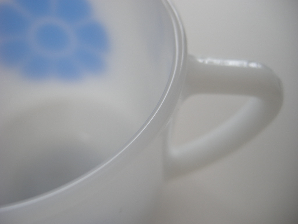 フェデラル プリントマグ リングフラワー ブルー 60s S(ワケあり) No.002