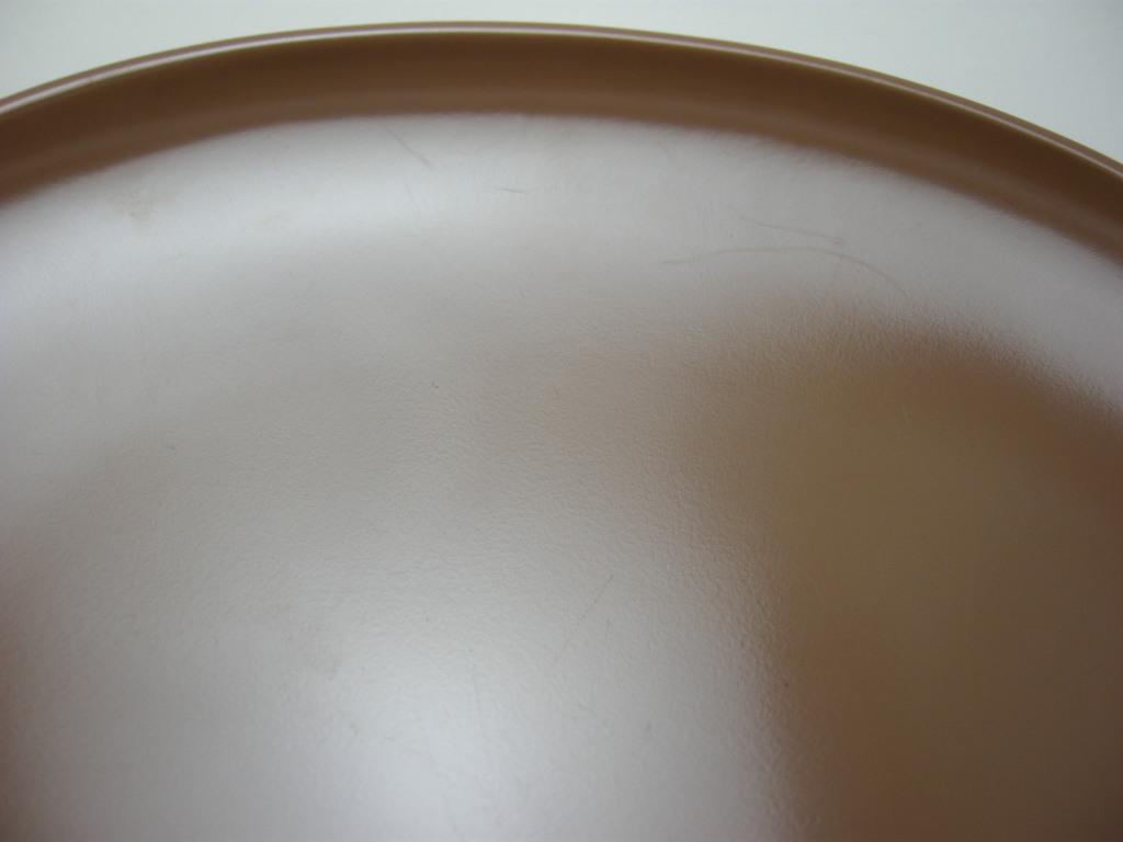 テキサスウェア メルマック プラッター サドルブラウン 1950年代 No.001 ヴィンテージ・メラミン樹脂製食器