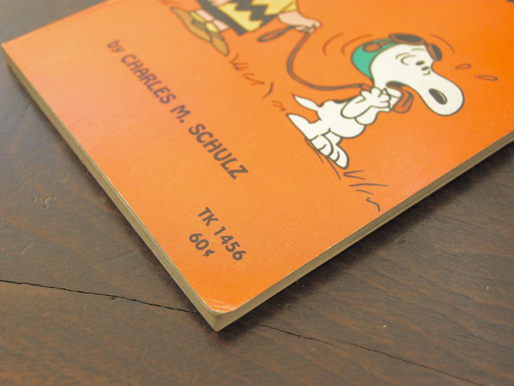 スヌーピー 『''He's Your Dog, Charlie Brown''』 ヴィンテージ絵本 カラー紙/フルカラー 1970年発行 (ペーパーバック) 中古 送料無料