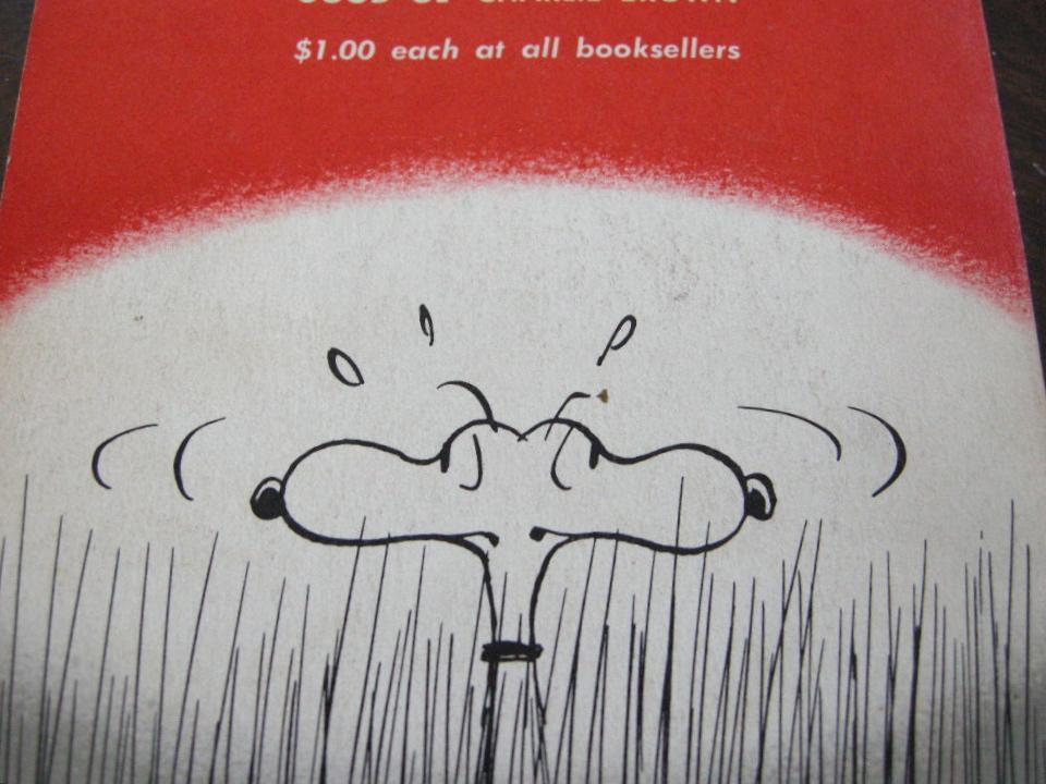 スヌーピー 『SNOOPY』 ヴィンテージコミックブック モノクロ 1958年発行 (ペーパーバック) 中古 送料無料