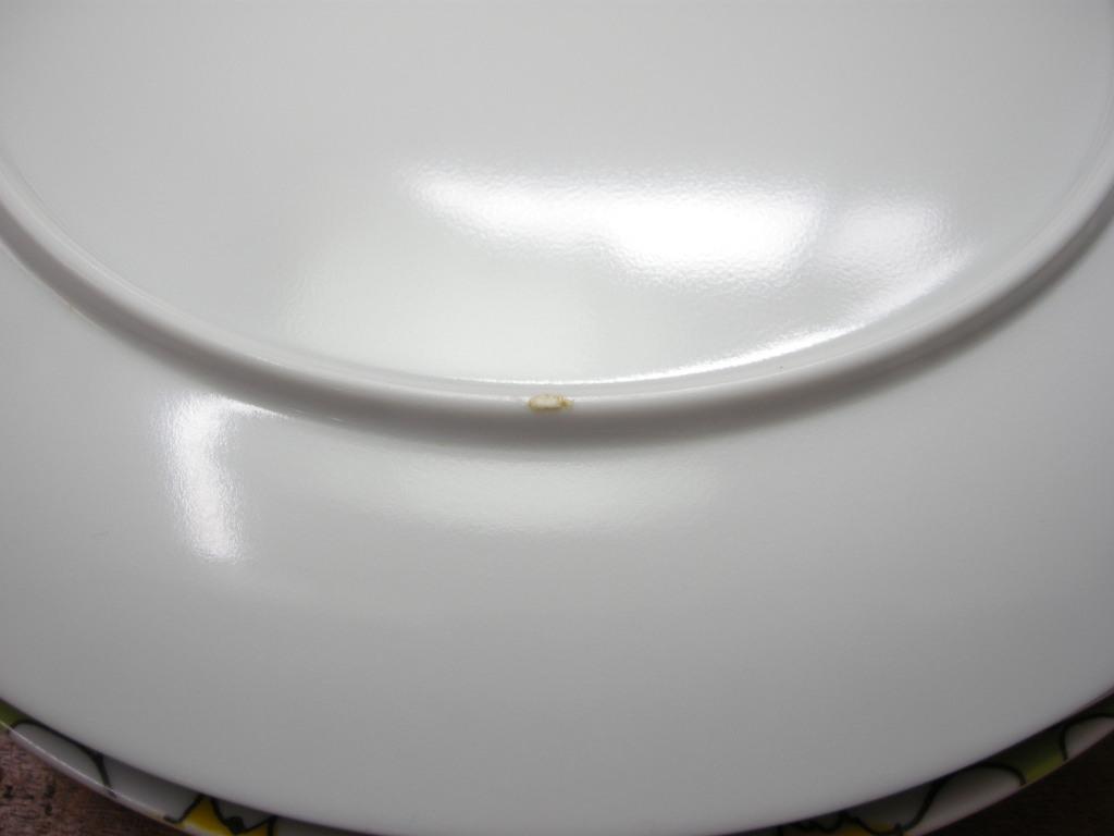 テキサスウェア メルマック プレート マーガレット 4枚セット 1950年代 AB No.060 ヴィンテージ・メラミン樹脂製食器