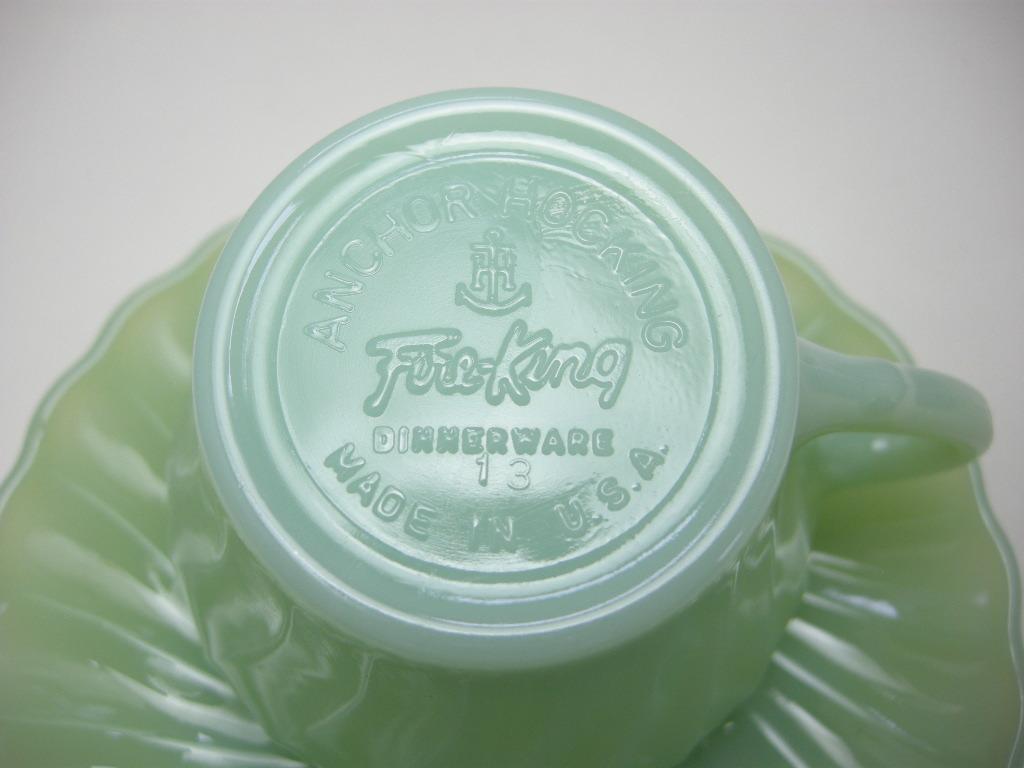 ファイヤーキング シェル カップ&ソーサー ジェダイ 60s S No.049