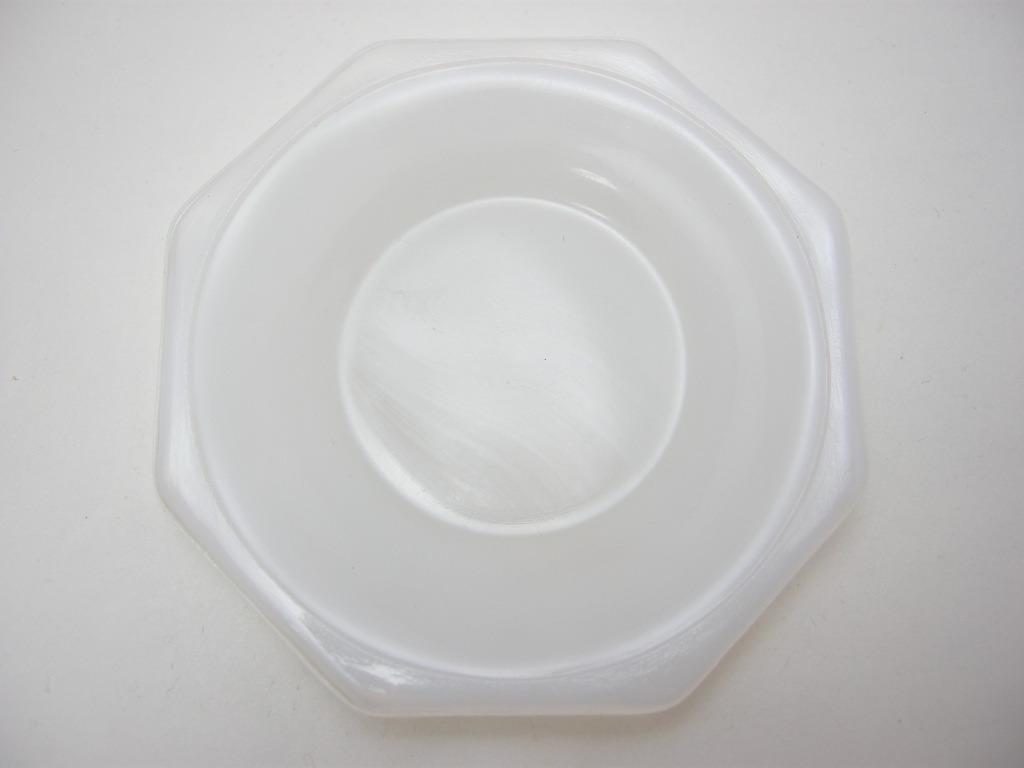 アクロアガット オクタゴナル ミニチュア カップ&ソーサー ジェードグリーン/ホワイト A No.005