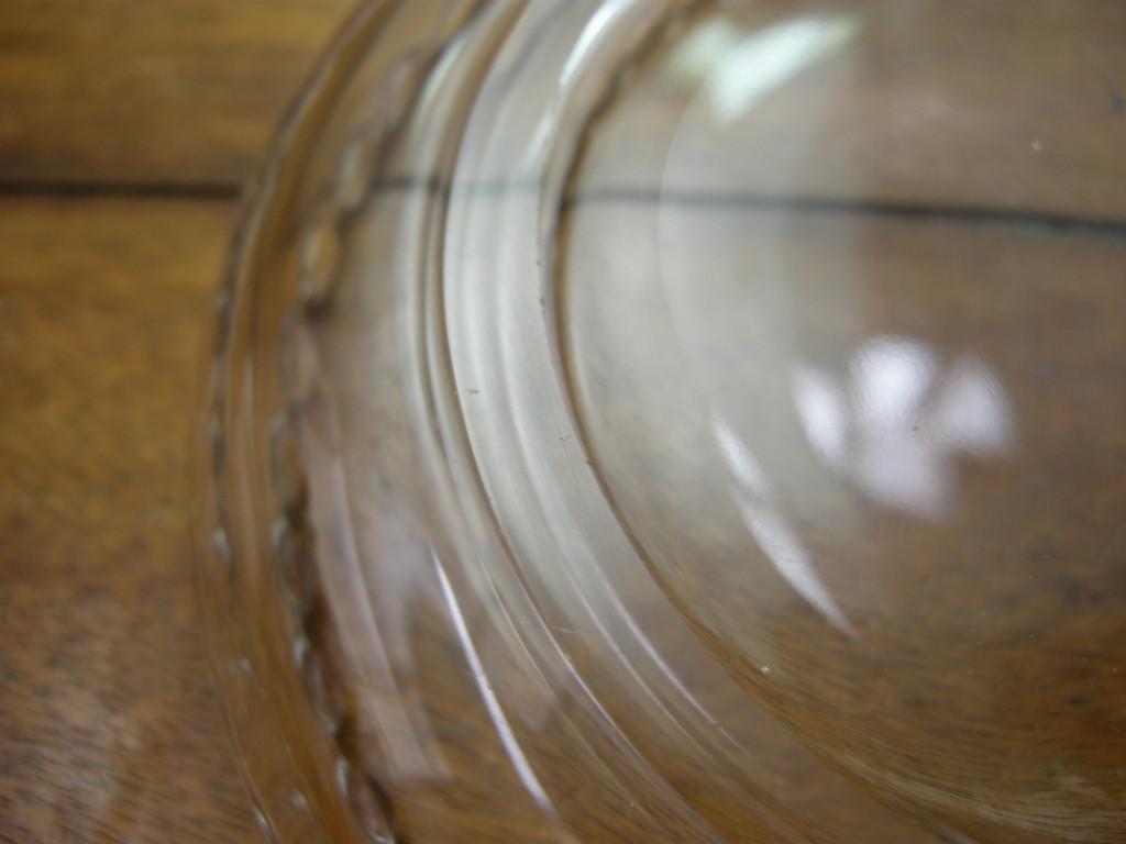 インペリアルグラスカンパニー キャンドルウィック デザートボウル クリスタル SS No.007