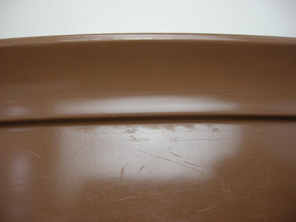 テキサスウェア メルマック バターディッシュ サドルブラウン 1950年代 No.023 ヴィンテージ・メラミン樹脂製食器
