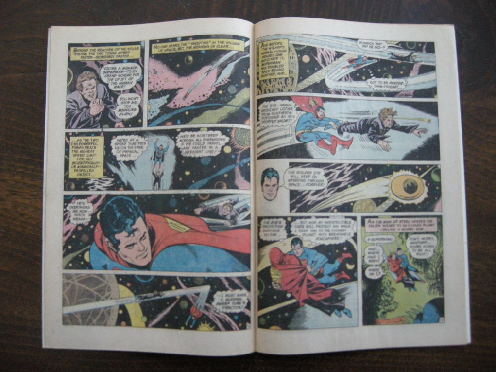 スーパーマン 『SUPERMAN (No.273)』 ヴィンテージコミックブック カラー 1974年発行 (ペーパーバック) 中古 A 送料無料