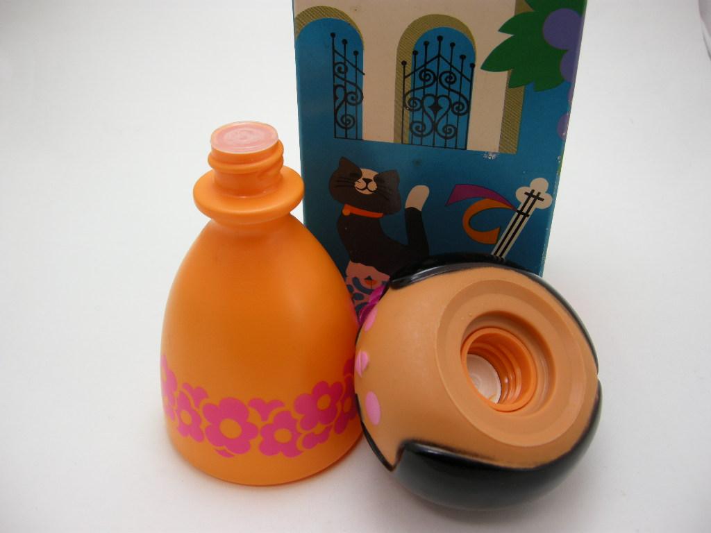 エイボン シャンプーボトル スモールワールド Senorita/スペイン (箱入り) 1970〜72年 A No.011