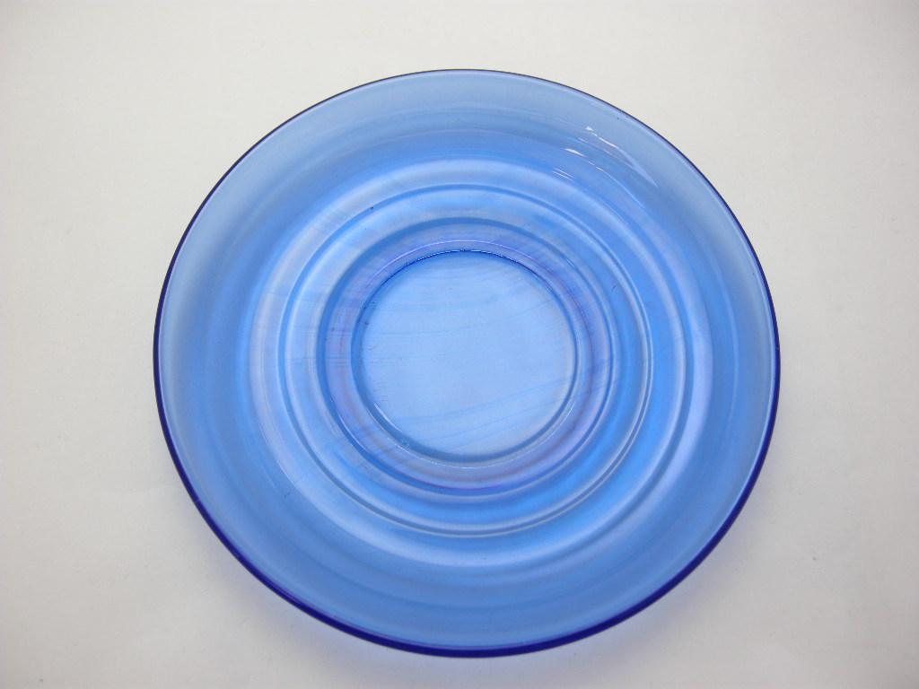 ヘーゼルアトラス モダントーン カップ&ソーサー リッツブルー 30s A No.042