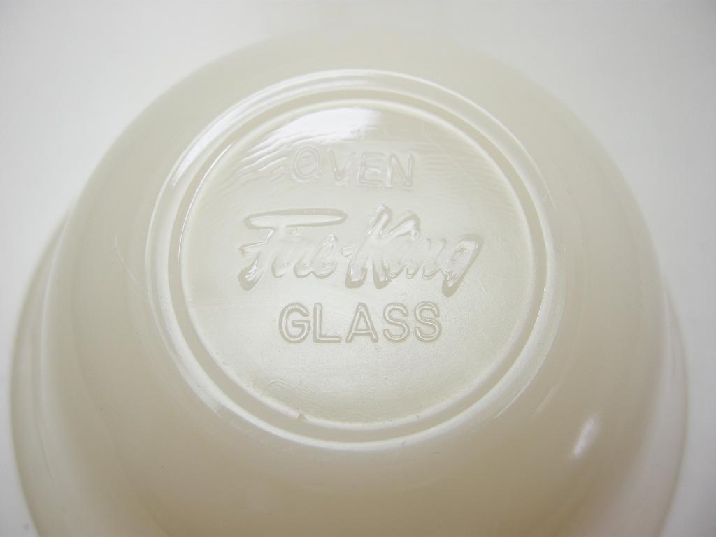 ファイヤーキング カスタードカップ(6oz) アイボリー 40s(GLASS刻印) SS No.021