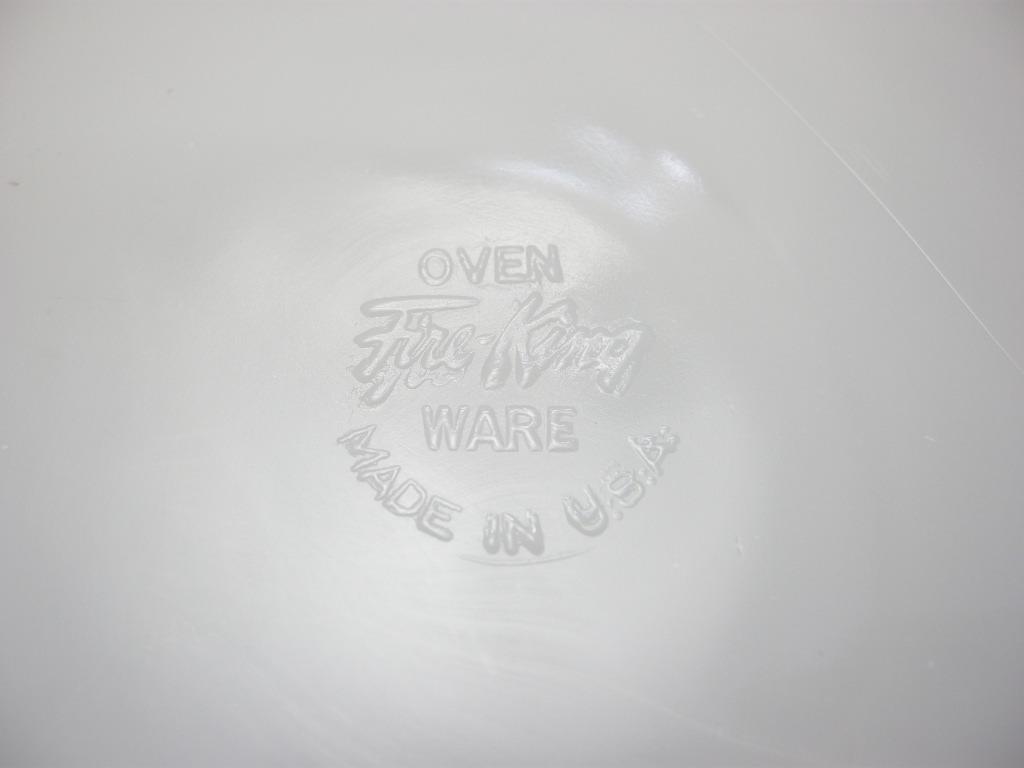 ファイヤーキング ローレル ディナープレート グレイ 50s後期 SS(シール付) No.021